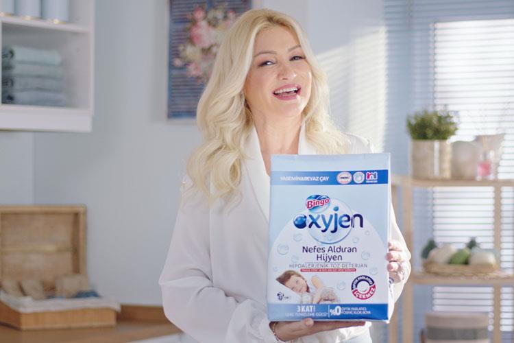 Zahide Yetiş ile Bingo Oxyjen'in Nefes Aldıran  Yeni Reklam Filmi Yayında