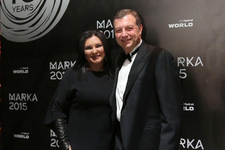 MARKA 2015 Gala Party'de  İş, Marka ve Medya Dünyası Buluştu