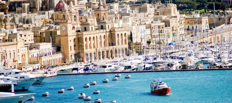 Akdeniz'de Şovalyeler Adası; Malta