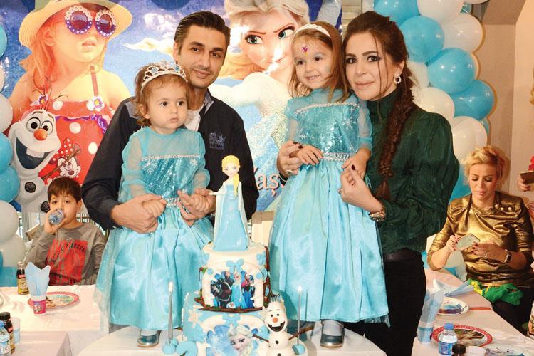 Köse Ailesinin Minik Kızları Beren Yeni Yaşına Renkli Bir Partiyle Girdi