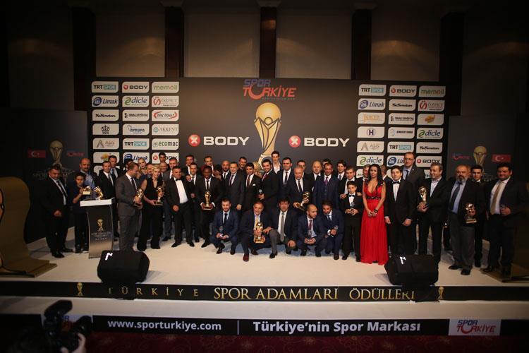 14. Türkiye Spor Adamları Ödülleri Sahiplerini Buldu
