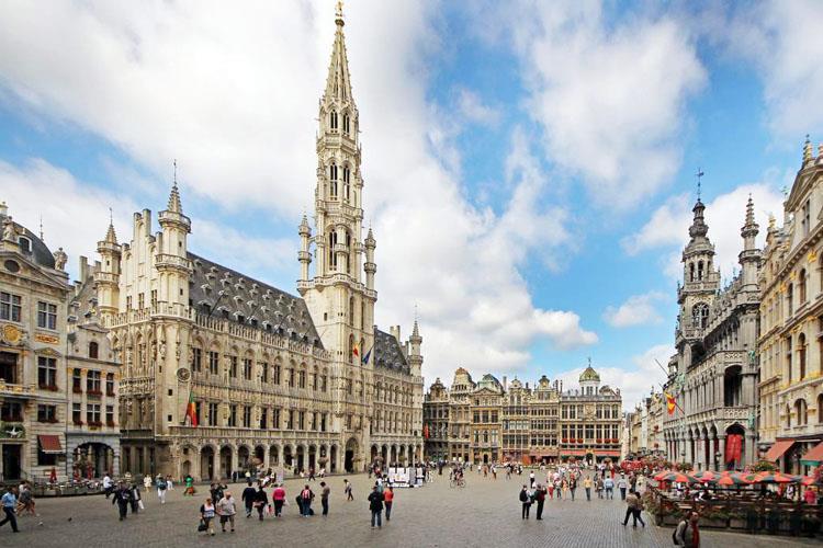 Brüksel'de Kış Güneşi