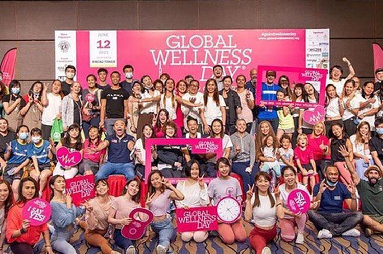 Global Wellness Day 10. Yılında Dünyanın Dört Bir Yanında Kutlandı