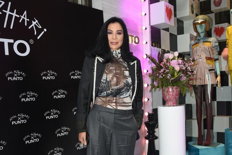 """Ünlü Tasarımcı Amal Azhari'nin Punto İçin Hazırladığı """"The Sılk Road"""" Adlı Koleksiyon Özel Bir Davetle Tanıtıldı"""
