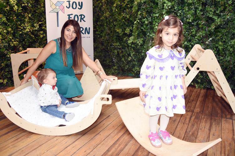 Güler Işık'ın JoyForLearn oyuncakları Nişantaşında tanıtıldı