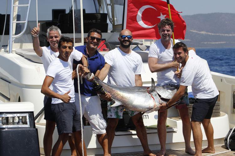 MOST Bodrum Turnuvası'nda Nefes Kesen Mücadele, İş Dünyası Büyük Balık İçin Yarıştı