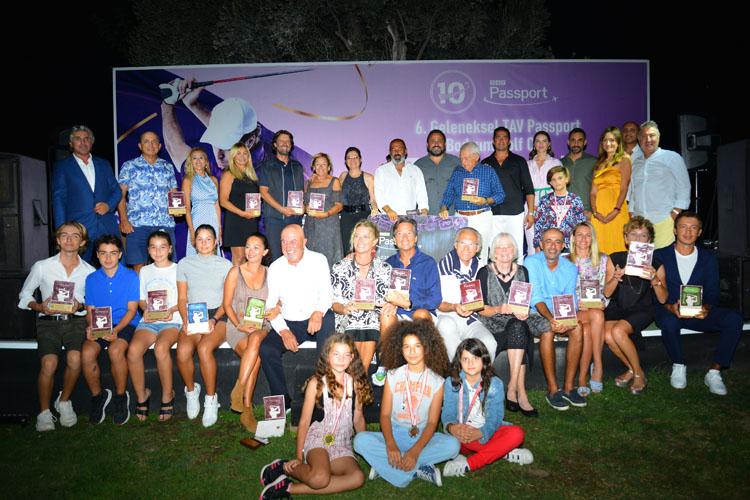 6. TAV Passport Golf Cup Golf Camiası Bodrum'da Buluştu