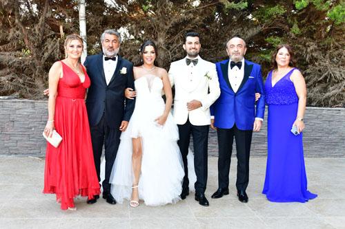 Ezgi Erkurtoğlu-Berkay Yılmaz: Muhteşem Bir Düğünle Bodrum'da Evlendiler