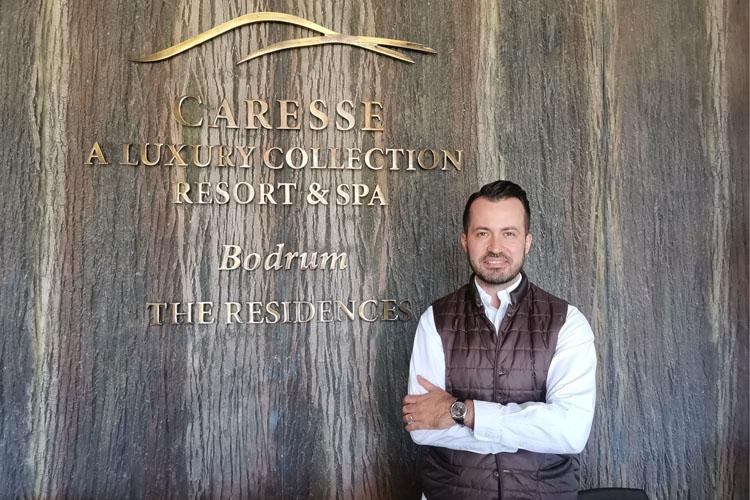 Caresse, a Luxury Collection Resort & Spa, Bodrum'da  Üst Düzey Atamalara Bir Yenisi  Eklendi