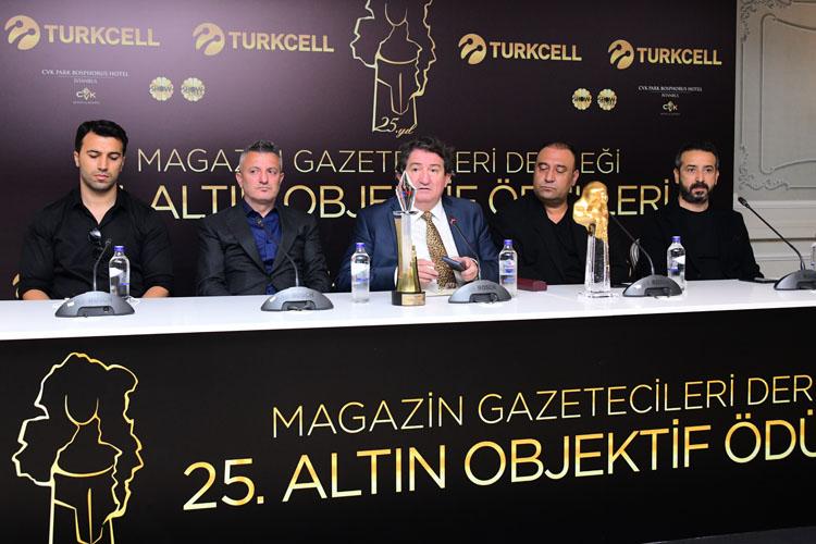 MGD 25. Altın Objektif Meslek Ödülleri Açıklandı