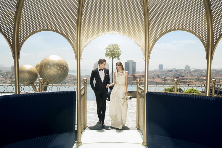 Fairmont Quasar İstanbul'da Masalsı Düğünler