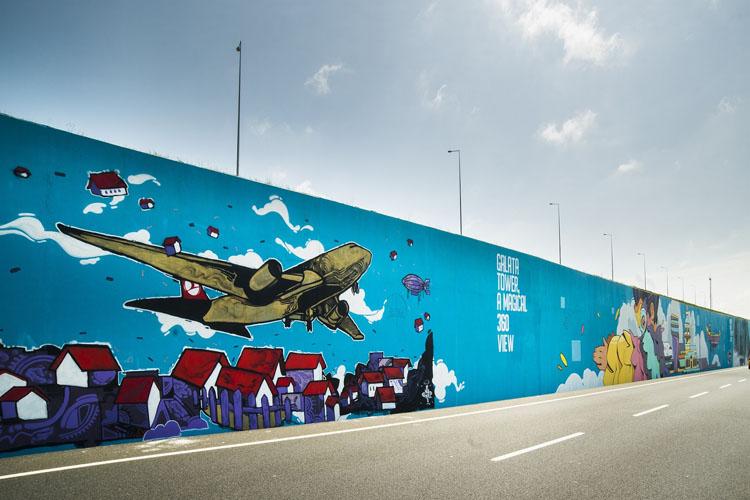 Filli Boya, Çocukların Uçuş Hayallerini İGA İstanbul Havalimanı Yoluna Resmetti