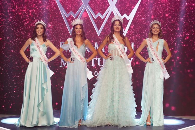 Miss Turkey 2021 Güzelleri Güzellikleriyle Büyüledi