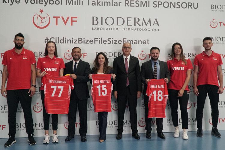 Bioderma ve TVF İş Birliğinin Sponsorluk  Anlaşması İmzalandı