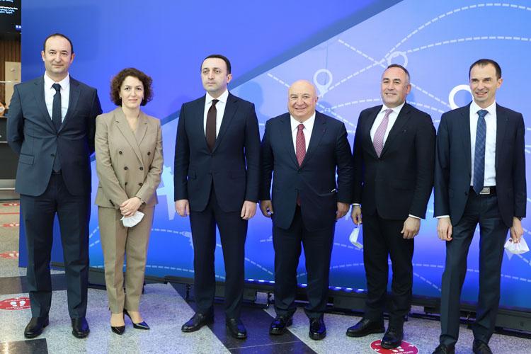 TAV Batum'da Yeni Terminali Hizmete Açtı