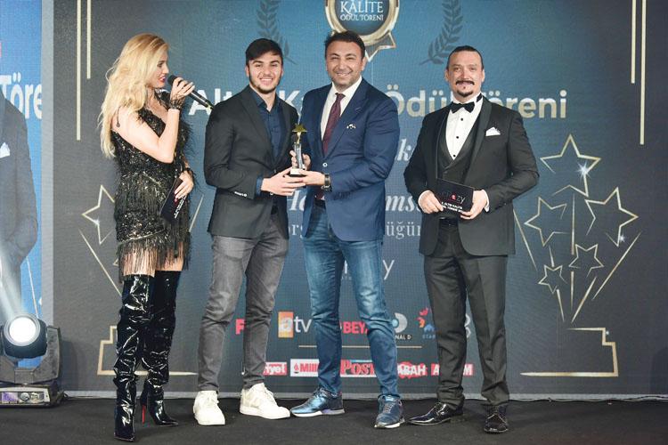 VİDEO HABER/Altın Kalite Ödülleri'ne Klass Medya Grubu Damgasını Vurdu
