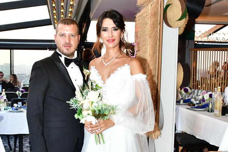 Görkem-Mine Özden Demir: Romantik Bir Düğünle Rixos Pera'da Evlendiler