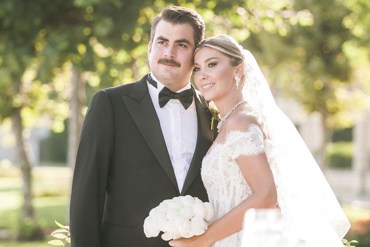 Ülker Hızal-Mustafa Yazıcı: Mutlu Birlikteliklerini Şık Bir Düğünle Taçlandırdılar