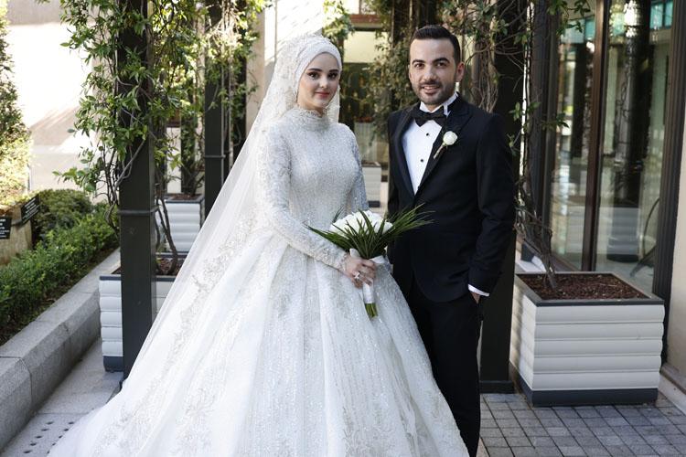 VİDEOHABER/Hamza - Ayşegül Hamidi, Four Seasons Hotel İstanbul'da Görkemli Bir Törenle Evlendi