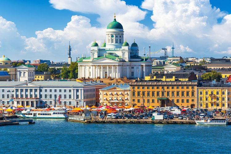 Kuzeyin Beyaz Şehri; Helsinki