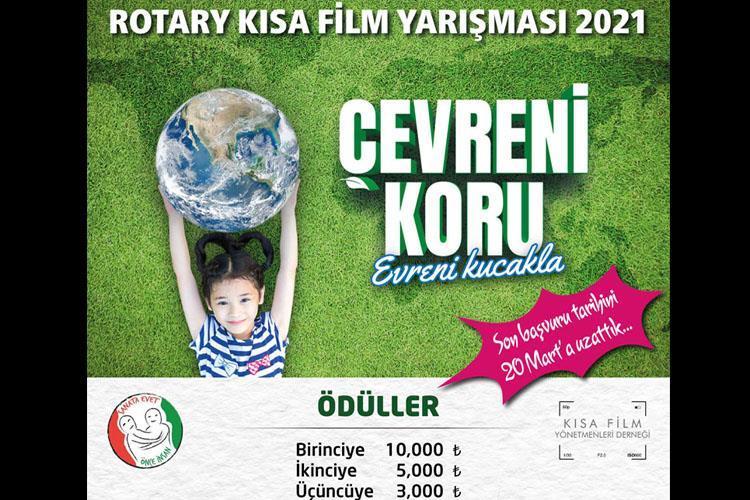 2420.Bölge,2.Rotary Kısa Film Yarışmasının Sloganı Çevreni Koru Evreni Kucakla